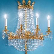 Empire Chandelier Style Wall Light