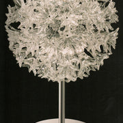 'Esprit' clear Murano glass globe table lamp by Venini