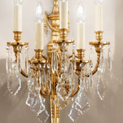Classic Italian Wall Sconce with Crystal