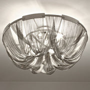 Soscik modern metal chain ceiling light from Terzani