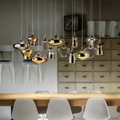Nostalgia custom cluster light from Studio Italia design