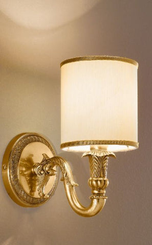 Antique French Gold Finish Wall Light