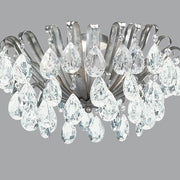 Beautiful Design Silver Ceiling Light with Swarovski Elements