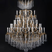 80 Light French Gold Hotel Chandelier