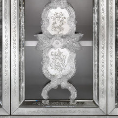 Ornate Venetian mirrored cupboard