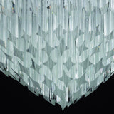 Mid-century style Murano glass prism wall light