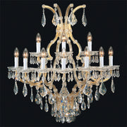 Maria Theresa wall light with Swarovski Strass crystals