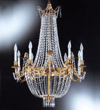 8 Light Empire Style Chandelier