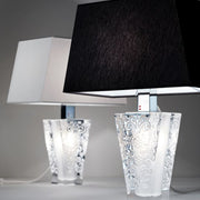 Vicky D69 B03 crystal lamp with shade from Fabbian