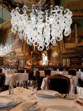 The 'Several' 7 light Murano crystal chandelier