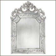 Large 18th century-style bevelled Venetian mirror
