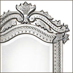 Bevelled French-style Venetian mirror