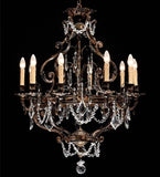 10 light luxury French gold chandelier
