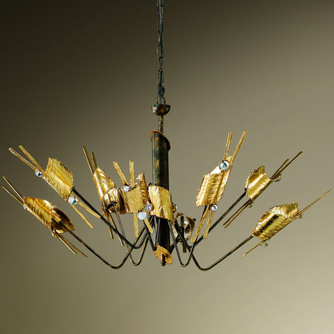 Modern Eight Arm Chandelier