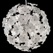 70 cm 70s-style flower globe light in the Cenedese style
