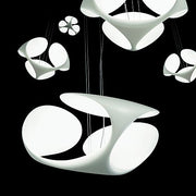 Clover white polyeurethane ceiling light by Kundalini