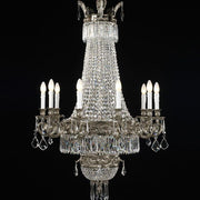 12 Light Empire Style Chandelier