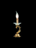 Louis XV French style candelabra light with Murano glass