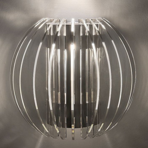 Polycarbonate wall light in 4 colours