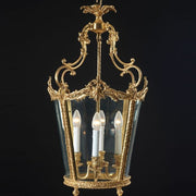 4 Light French Gold Lantern