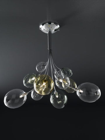 Artistic Glass Bubble Fitting