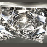 Cindy Faretti prismatic lead crystal recessed light by Fabbian