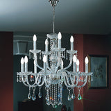 Beautiful Cut Glass Chandelier