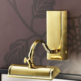 Small Gold Plated Picture Light