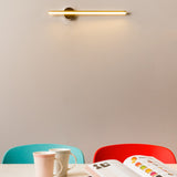 Rotating modern metal wall light by Ledevo