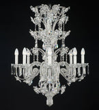 8 Light Luxury Silver Chandelier