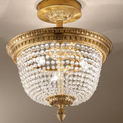 Bohemian Crystal Ceiling Fitting