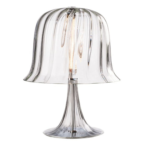Kalika Murano glass lamp with glass base from Venini