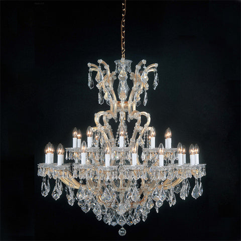 Maria Theresa Swarovski crystal chandelier in 7 sizes