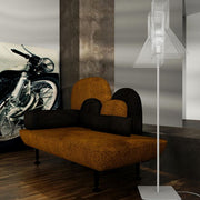 Modern black or white designer standard lamp