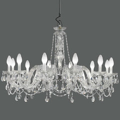 Masiero DRYLIGHT S12 outdoor 12 light chandelier