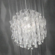 Clear Aura SP60 Murano glass pendant light from Axo Light