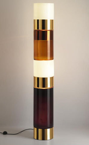 Murano glass pillar light by the Rockwell group