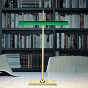 Goldman modern LED green bankers light from Flos