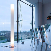 Stylos PMMA floor lighting column by Achille Castiglioni