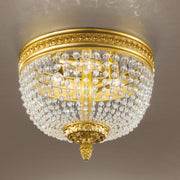 Brass Ceiling Fitting in Antique French Gold Finish