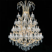 Maria Theresa 66 light 2 tier Scholer crystal chandelier