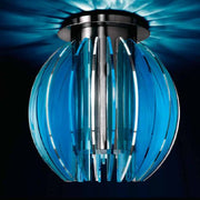 Blue polycarbonate ceiling light - more colours available