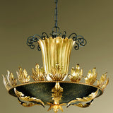 Golden Finish Ceiling Fitting