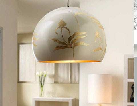 Bespoke ceramic ceiling light with a wide choice of finishes.