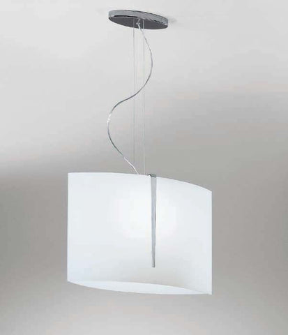 Curved Shade Ceiling Pendant