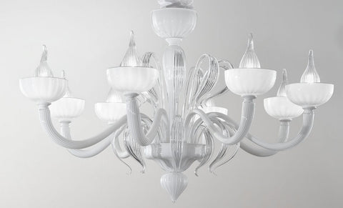 """Epoque"" Murano glass chandelier by Dolce Vita"