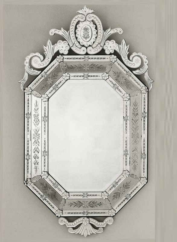Large Octagonal Mirror Decorative Octagon Shaped Mirror Italian