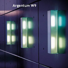Argentum W3 mirrored wall & ceiling light from Prandina