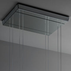 Vicky A07 4-light crystal ceiling light from Fabbian