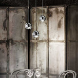 Spider triple suspension light in 4 fabulous metal finishes